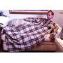 Cobertor Com Mangas - Wac Wac - Xadrez