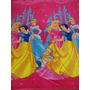 Manta Infantil Princesas Disney, Microfibra