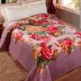 Cobertor Jolitex Kyor Casal - Damasco Cinza