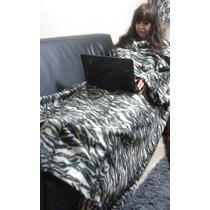 Cobertor Com Mangas- O Mais Quente E Maior Do Mercado