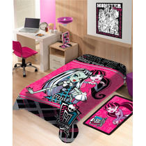 Manta Infantil De Microfibra Monster High - Jolitex - Macia