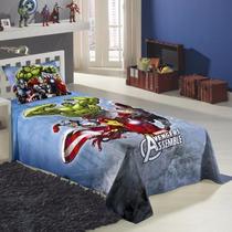 Jogo De Lençol P/ Cama Solteiro Avengers Os Vingadores 2pçs