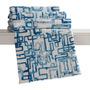 Manta Estampada King Microfib Super Macia Corttex Labirinto