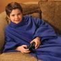 Cobertor Com Mangas Infantil Wac Wac - Azul Jeans