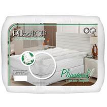 Pillow Top Casal Enchimento De Fibra Siliconizada - Plumasul
