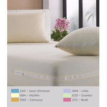 Capa Colchao Casal + 2 Capas Travesseiro Malha Produttex