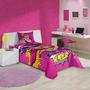 Edredom Infatil Solteiro Barbie Super Princesa Lepper 1 P