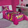 Jogo De Cama Infantil Barbie Super Princesa - Lepper