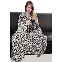 Cobertor Com Mangas - Wac Wac - Futebol