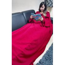 Cobertor Com Mangas - Tamanho :1,60x1,80m - Cobre Bem Os Pés