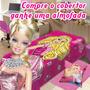 Cobertor Da Barbie + Almofada Da Barbie