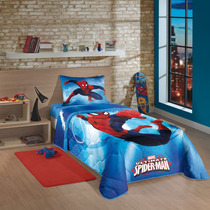 Edredom Infantil Spider Man ( Frete Gratis )