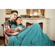Cobertor De Tv Com Mangas Solteiro Verde - Loani