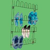 Sapateira Porta Vertical Organizar Sapato Aço 24 Divisórias
