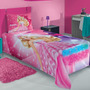 Jogo De Cama Infantil Barbie Rock Royals - Lepper (2 Peças)