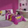 Edredom Infantil Barbie Super Princesa - Lepper
