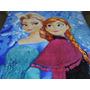 Mantas Microfibra Antialérgico King Size Princesa Frozen
