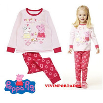 Pijama Peppa Pig Pronta Entrega No Brasil