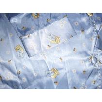 Conjunto Pijama De Cetim Feminino ( Duas Peças)