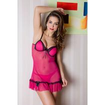 Camisolas Sensuais Camisola Natalie Lamour (lingerie Sexy)