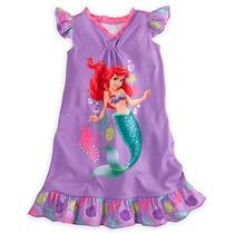 Camisola Infantil Princesa Ariel Pequena Sereia Disney