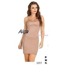 Modelador Anágua Vestido Cinta Corpet Combinação P M G Gg