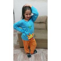 Pijama Girafa Tal Mãe, Tal Filha - Infantil