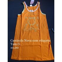 Pijama / Camisola Nova Com Etiqueta Tamanho G