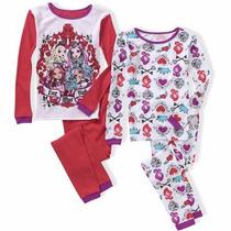 Kit Com 2 Pijamas Infantis Ever After High Importado Eua
