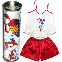 Pijama Na Latinha - Love Bear