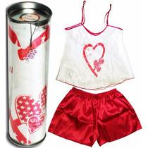 Pijama Na Latinha - Love You