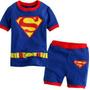 Pijama/fantasia Super Homem Curto