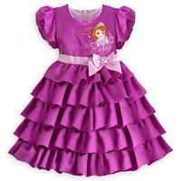 Vestido/ Fantasia Original Disney Princesa Sofia 2/3 Ou 5/6