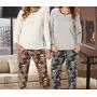 Pijama De Inverno Feminino Plush Com Estampas Bicho