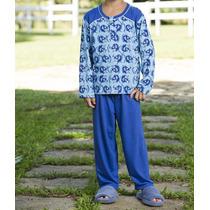 Pijama Masculino Infantil De Inverno - R1351