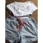 Pijama Malha Hering Tamanho M Novo - Grátis Bermuda Tommy