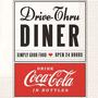 Pacote De Guardanapos De Papel Dinner Coca-cola 33x33cm 20