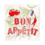 Pacote De Guardanapos De Papel Bon Appetit 33x33cm 20 Folhas
