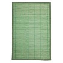 Kit Jogo Lugar Americano Bambu Liso Verde 4 Peças - Corttex