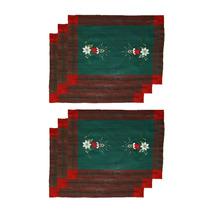 Jogo Americano Essência De Natal Mehndi 30x40cm - 6 Peças