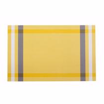 Kit 4 Peças Lugar Americano Verona Amarelo - Corttex