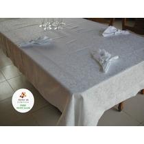Jogo De Mesa,toalha 8 Lugrs. 250x150 Jacq. Algodão C.gpos