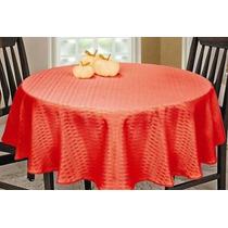 Toalha De Mesa Lisa Vermelha 1.60 X 1.60 Quadrada