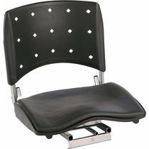Cadeira P/ Barco Giratória C/ Assento Grande E Almofadado