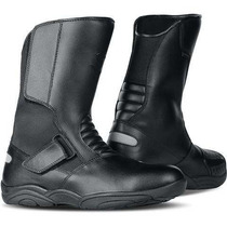 Bota Race Tech Road Touring Impermeável Preto Moto