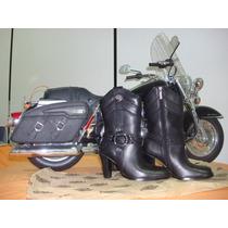 Bota Feminina Original Harley Davidson N.35/36