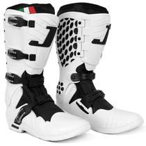 Bota Motocross Pro Tork Jett Enduro Trilha Par Branca