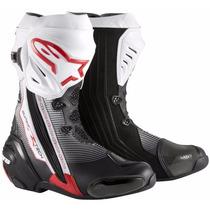 Bota Masculina Alpinestars Impermeavel Para Moto Corrida