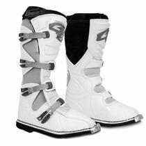 Bota Motocross Pro Tork Combat Il 2 Enduro Trilha Branca 45