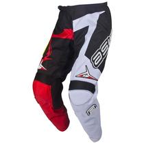 Calça Motocross Trilha Asw Image Race Vermelho - Tam 44